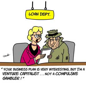 business loan cartoon